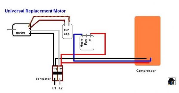 wiring diagram moreover capacitor start run motor dual run