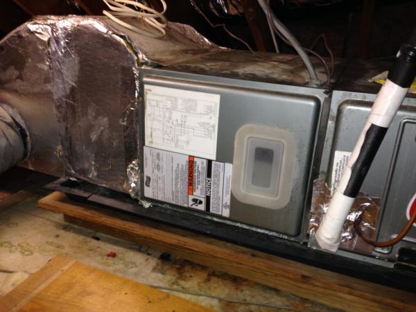 Cracked Secondary Drip Pan Repair Or Replace