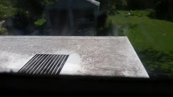 Is This Black Mold Lg 12000btu Window Unit