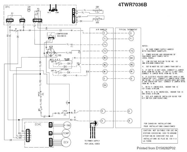 49895d1430192812 wiring between trane xl824 tem6 xr17 trane 4twr low voltage wiring between trane xl824, tem6, and xr17 doityourself com heating cooling thermostat wiring diagram at crackthecode.co