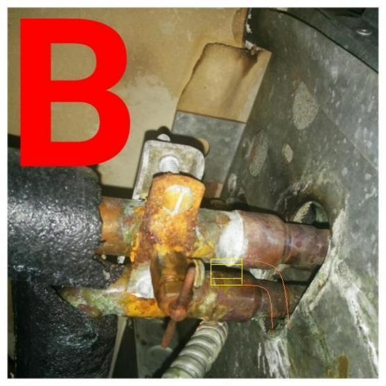 Name:  Saddle valve installed.jpg Views: 1861 Size:  44.5 KB