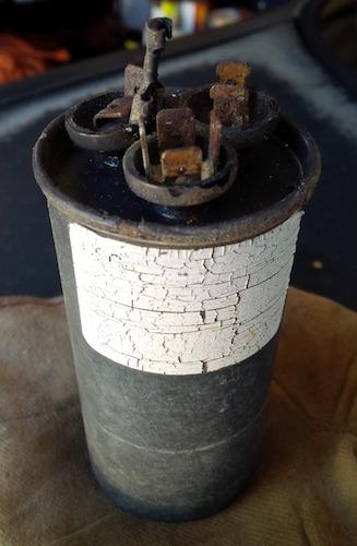 Air Conditioner Fan >> Capacitor for Rheem 14AJM36A01...? - DoItYourself.com ...