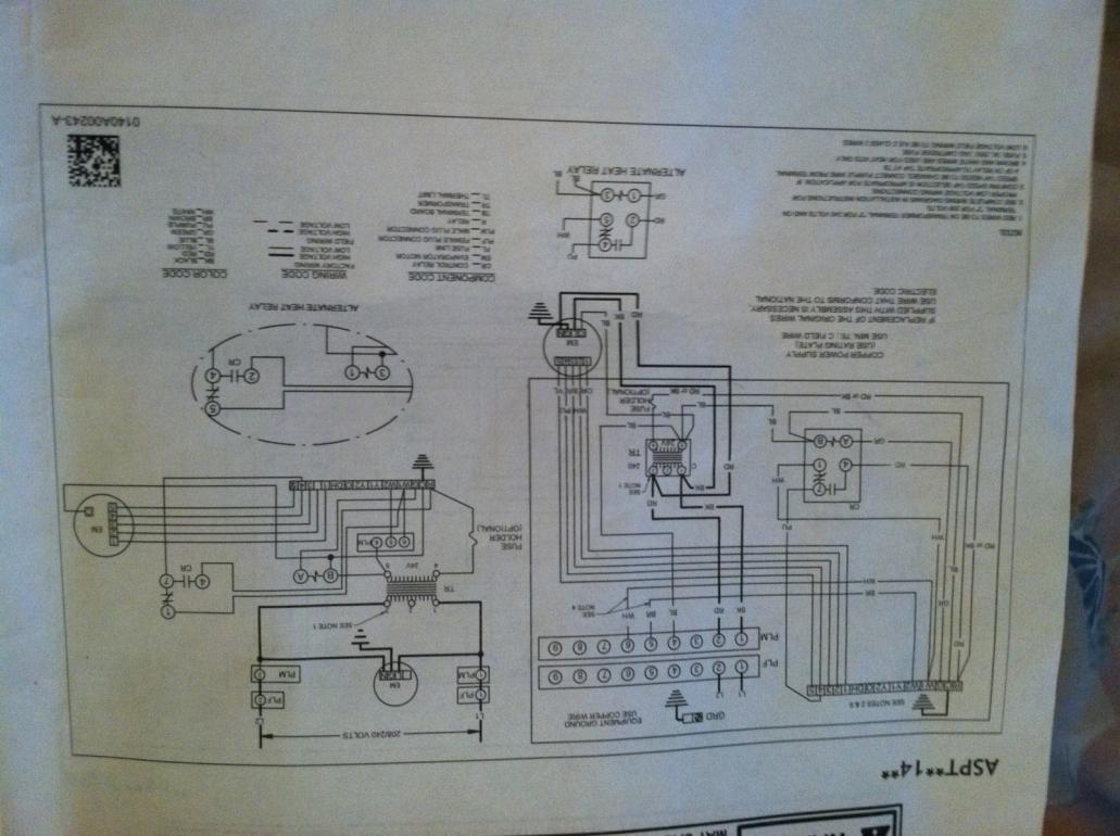 Goodman Aspt Air Handler Wiring Diagram Goodman Capacitor
