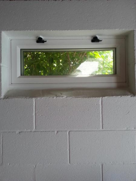 Basement Window Framing Question Doityourself Com