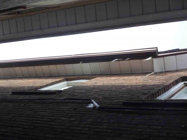 Insulating A 1950s Attic No Soffits Icicles On Flat