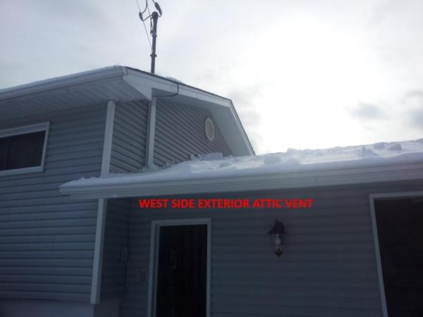 Ice Frost Inside Attic How To Remedy Doityourself