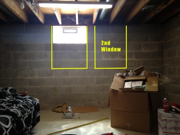 Egress window help community forums for Bedroom egress window size