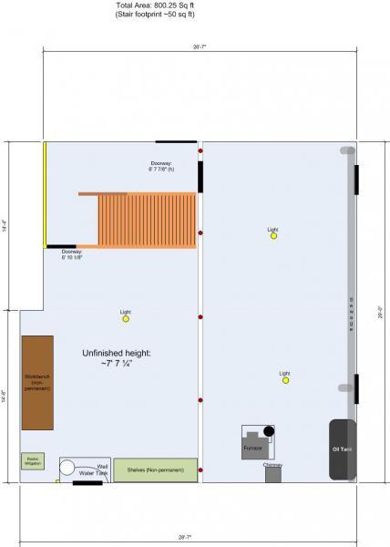 finishing my basement long post community forums. Black Bedroom Furniture Sets. Home Design Ideas