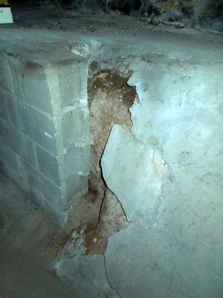 100 Year Old Basement Walls Crumbling, Crumbling Plaster Basement Walls