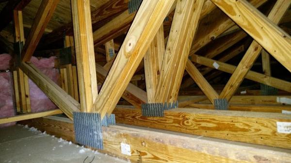 Garage ceiling storage load capacity 19 39 span help for Garage attic storage