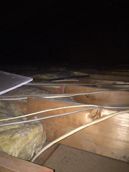Raise Attic Floor Over Wires With 2x2s Doityourself Com