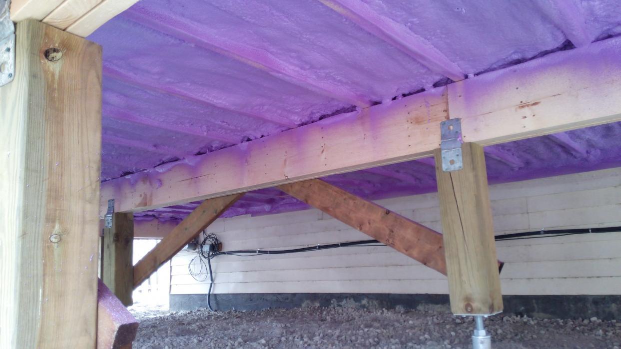 Adding Insulation Under Floor