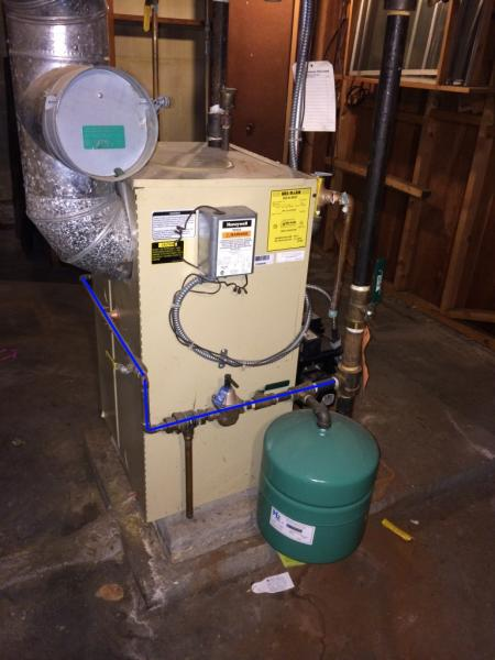 Converting Tankless Coil On Weil Mclain P Wtgo 3 To