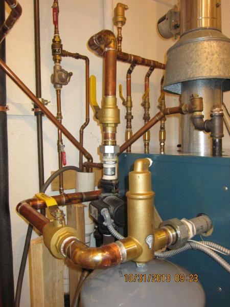 Boiler distribution manifold question doityourself