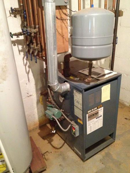 Help Finding Water Fill Valve On Gas Boiler System