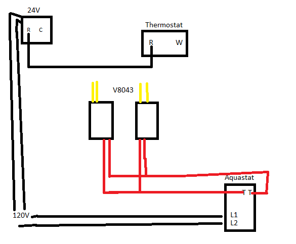 Diagram    for Honeywell AT72D   2 V8043E2012  1     Thermostat     DoItYourself Community Forums