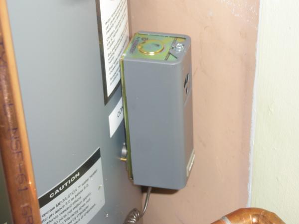 Problem With High Limit Setting On Honeywell L7224u Boiler