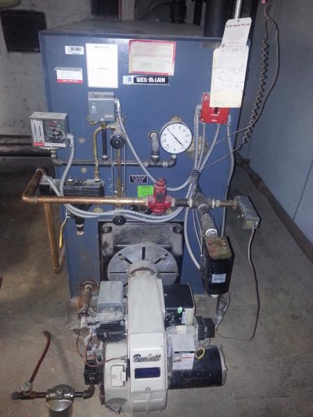 Steam Boiler: Weil Mclain Steam Boiler