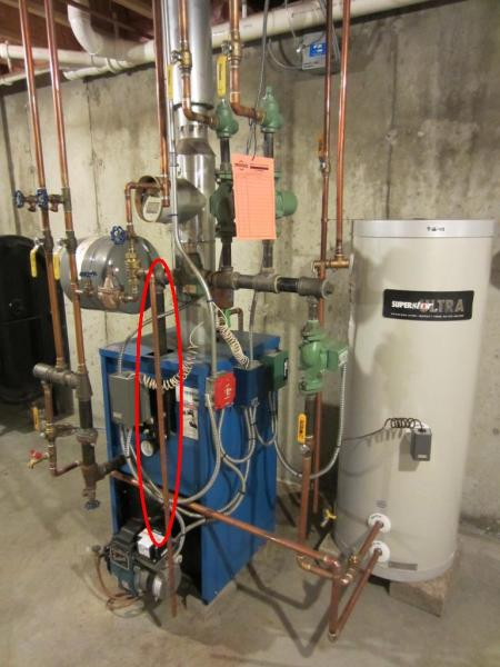 How to bleed air out of boiler for Hot air heating system
