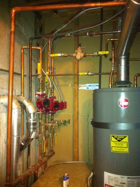 Three Zone Baseboard Heat Two Zones Not Heating