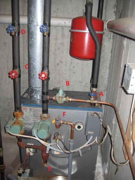 gas furnace general questions flush bleed pressure relief valve. Black Bedroom Furniture Sets. Home Design Ideas