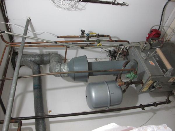 Gas Fired Hot Water Boiler Not Burning Pilot Light On