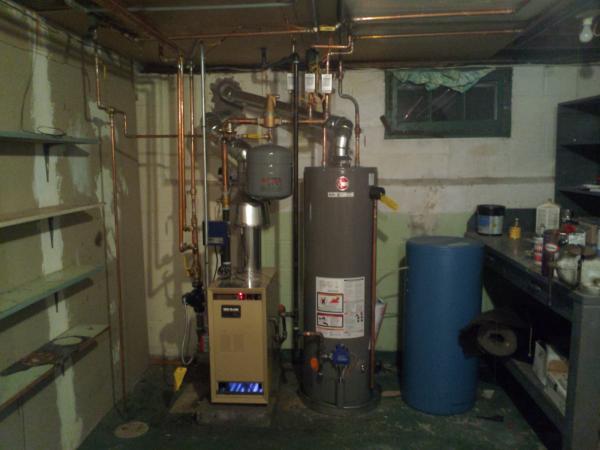 Critique This Boiler    Hot Water Heater Setup
