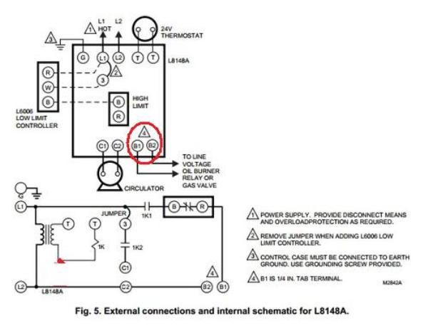 61336d1452401474 oil burner boiler problems l8148a oil burner boiler problems doityourself com community forums carlin 60200 wiring diagram at virtualis.co
