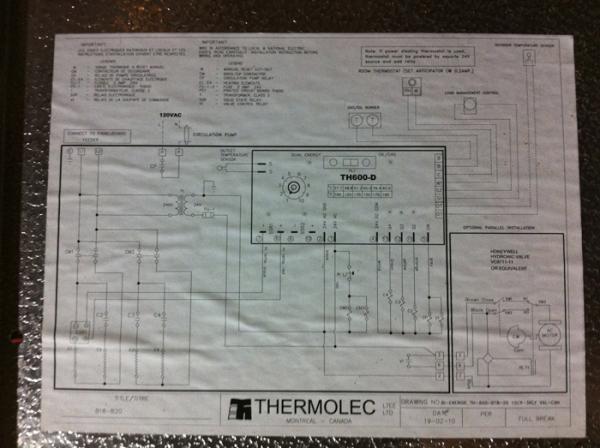 Thermolec Electric Boiler  U0026 Nest Thermostat Setup
