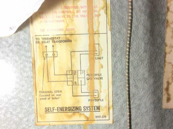 Hydrotherm boiler pilot not lighting/cleaning info - DoItYourself ...