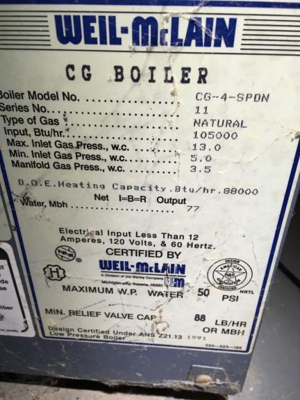 Help with Weil-McLain boiler - won\'t ignite - DoItYourself.com ...