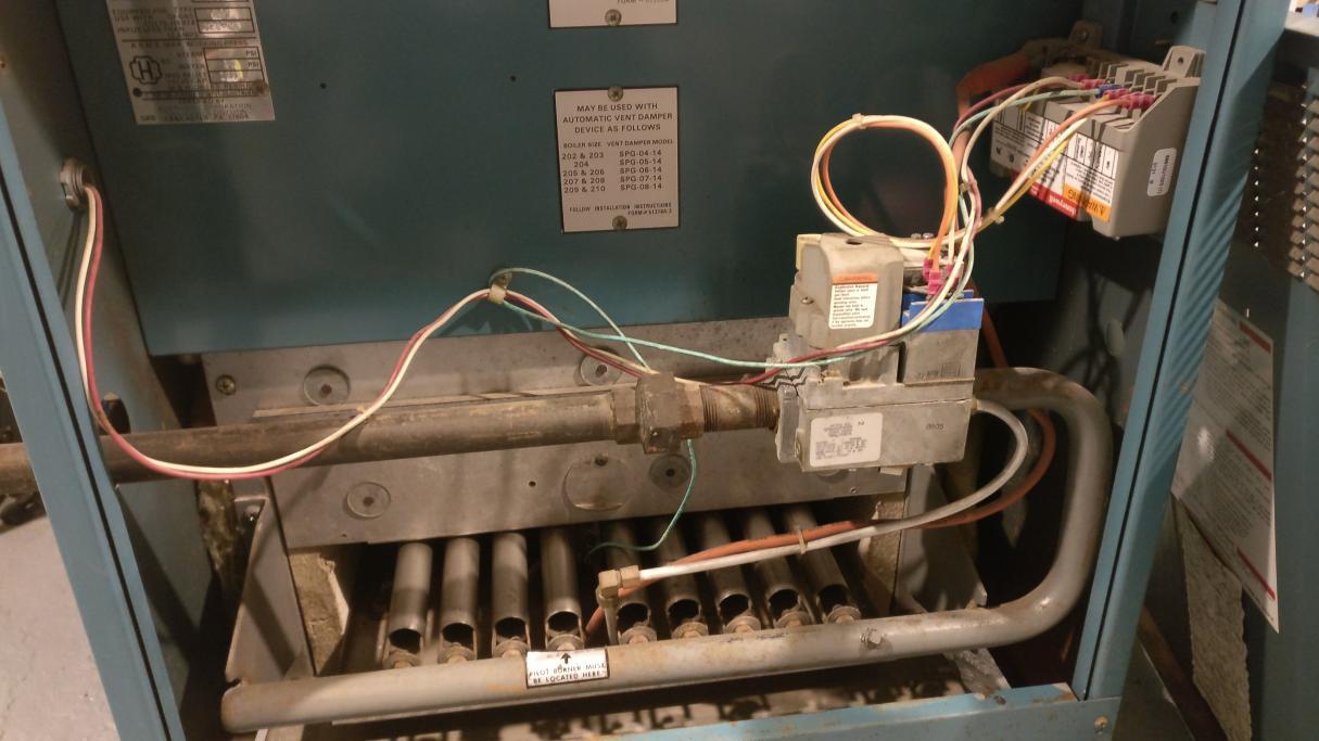 Burnham Boiler  Clicking And Turn Off  On Randomly