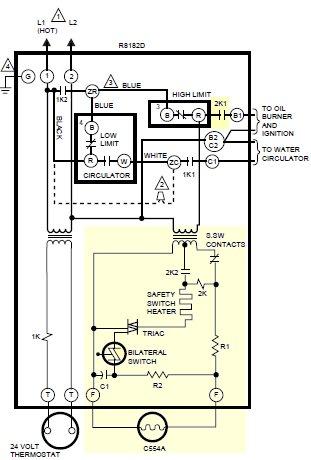 9857d1362436502 honeywell 8182d aquastat cycling fast cycling off pierce100_8182d setting honeywell aquastat l8124a, c doityourself community honeywell dual aquastat wiring diagram at readyjetset.co