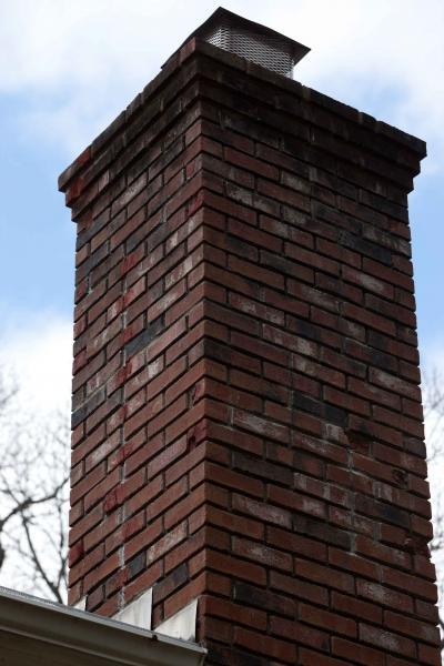Fixing Cinder Block Chimney : Suggestion on chimney repair doityourself community