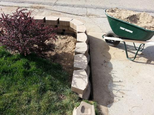 Draing for retaining wall DoItYourselfcom Community Forums