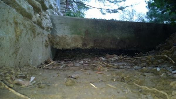 How Do I Fill Void Under Porch Doityourself Com
