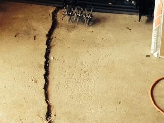how to fix fine cracks in garage floor