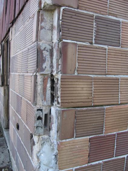 Tile Block Foundation Repair Doityourself Com Community