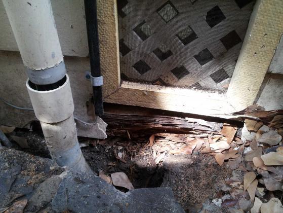 Rotting beam under slab foundation for Block and beam foundation vs slab