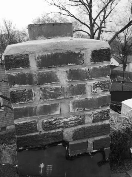 Cracks In Chimney Bricks Repair Or Replace
