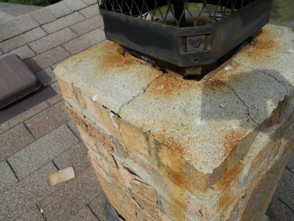 Fixing Cinder Block Chimney : Cinder block cracks basement veloading
