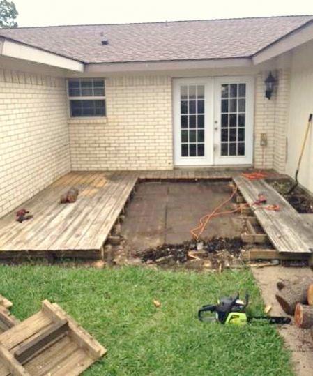 Concrete patio/Deck help - DoItYourself.com Community Forums