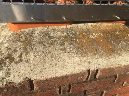 Fixing Cinder Block Chimney : Brickwork chimney top care and repair doityourself