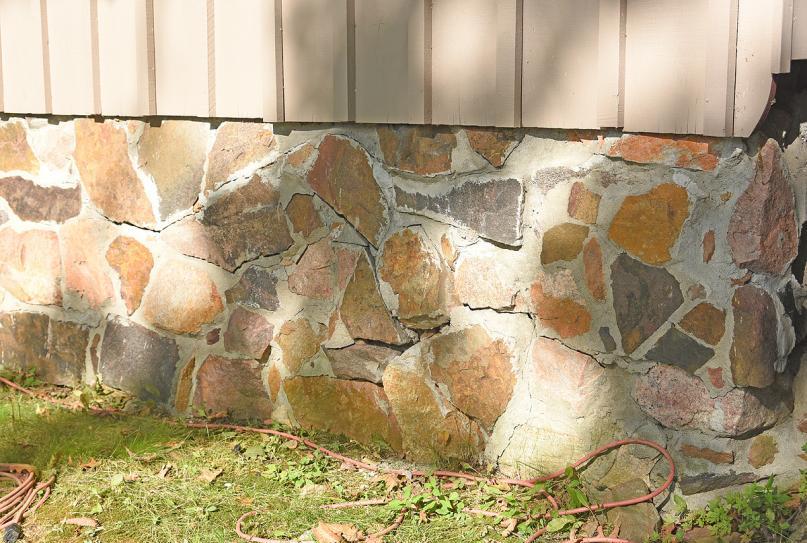 stone foundation wall problem community forums. Black Bedroom Furniture Sets. Home Design Ideas