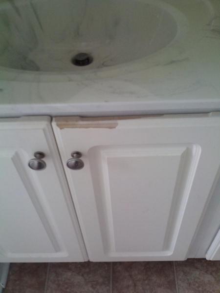 peeling white cabinets doityourselfcom community forums