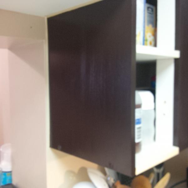 Rustoleum Cabinet Transformation - Top Coat Streaks and Blotches ...