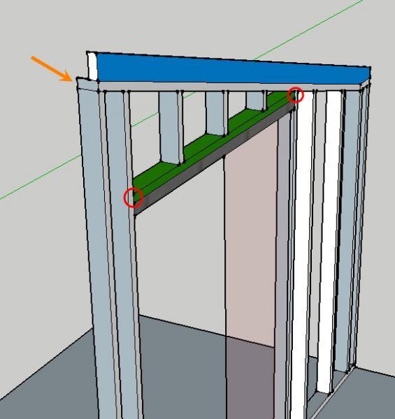 Dividing Room With Non Load Bearing Wall W Pockdoor