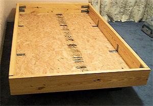 diy project floating bed frame community forums. Black Bedroom Furniture Sets. Home Design Ideas
