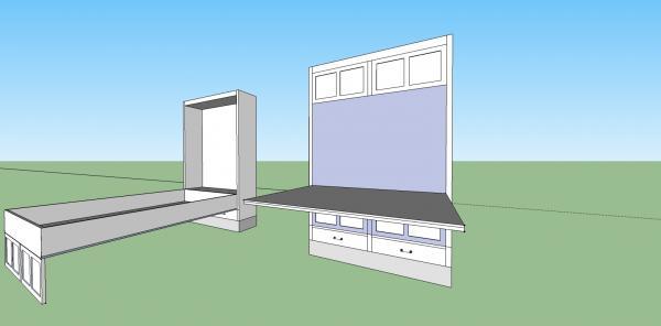 new queen size murphy bed design community forums. Black Bedroom Furniture Sets. Home Design Ideas