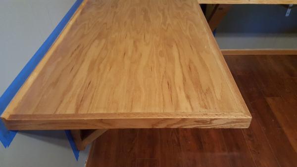 L Shaped Brackets >> Long Floating L-shaped Desk - DoItYourself.com Community Forums